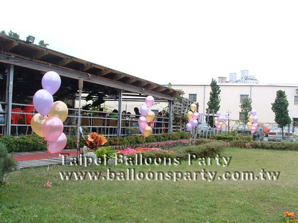台北气球派对 - 浪漫婚礼-户外婚礼